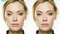 5 ფოტოსურათზე შევცვლი თვალის ფერს